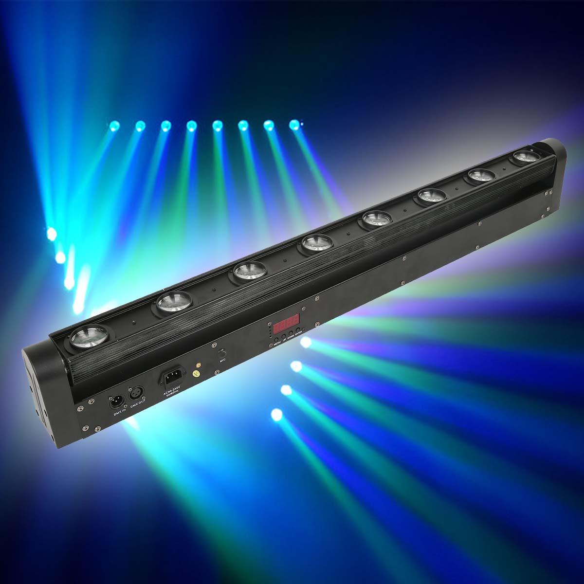 8x12w 100w rgbw 4in1 cree led bar beam moving head light