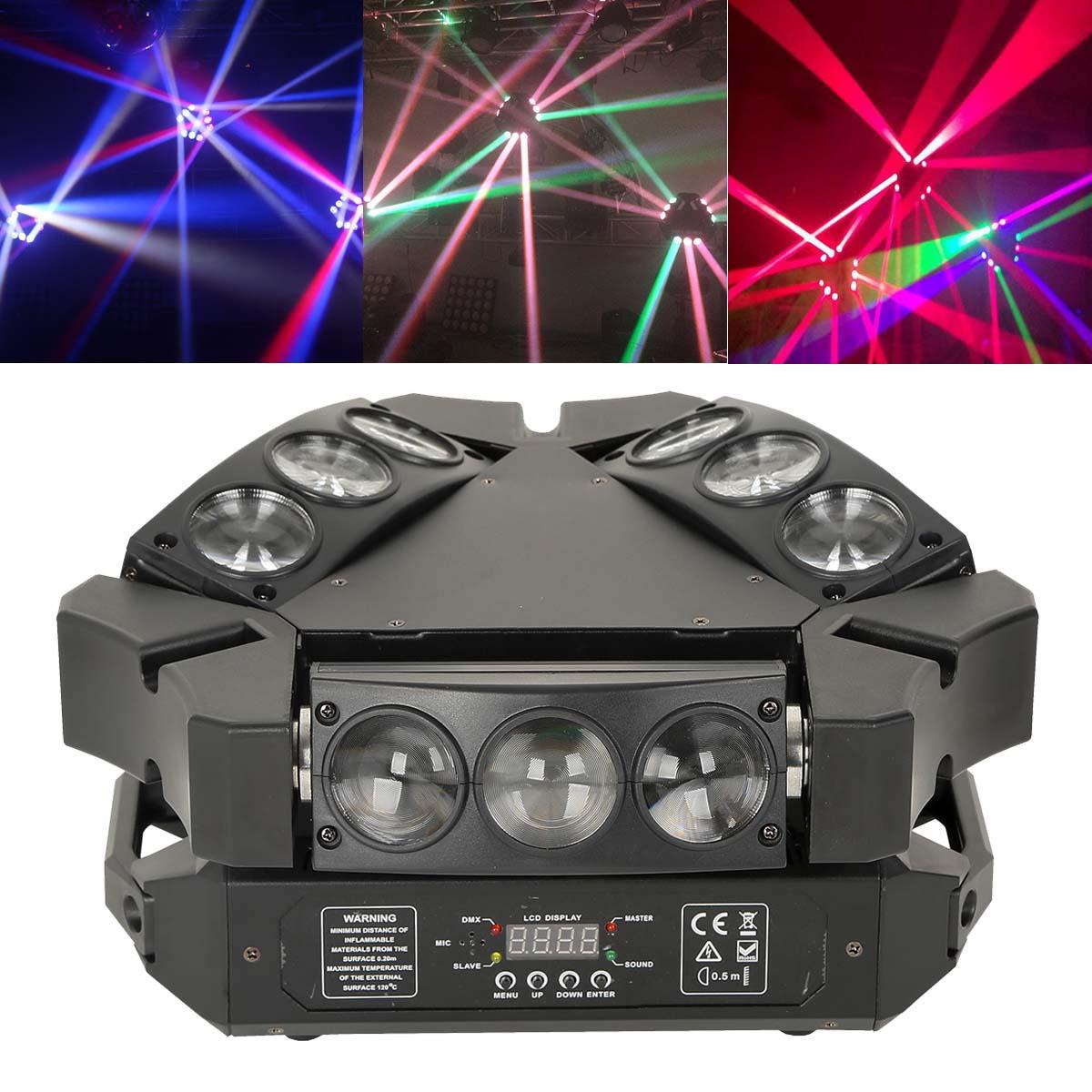 9x3w rgb dmx led spider moving head light stage bar ktv dj disco lighting ebay. Black Bedroom Furniture Sets. Home Design Ideas