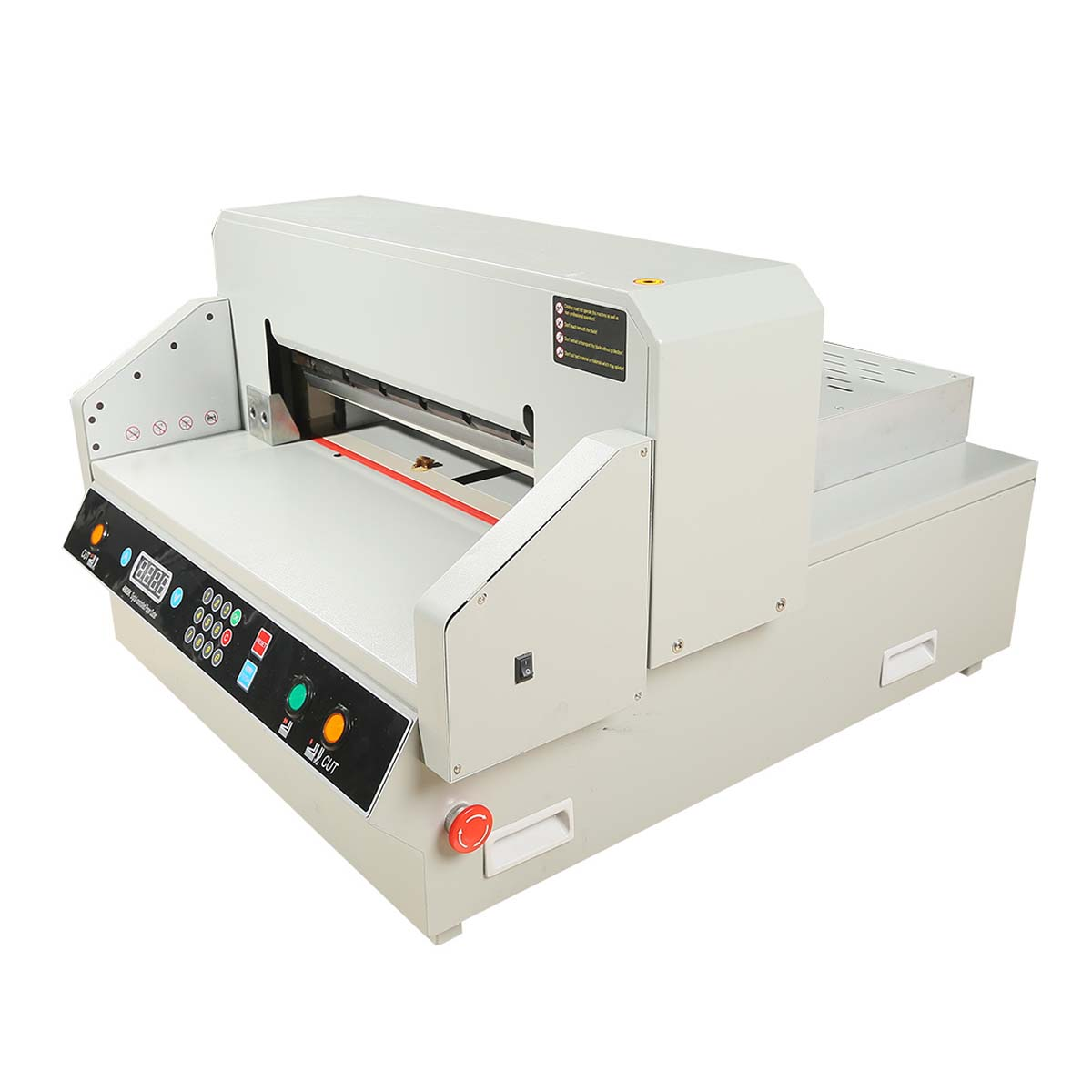 electric paper cutter Are you in need of a quick, efficient and accurate way to cut paper perhaps you should consider looking at an electric stack paper cutter these cutters are the kings of the paper cutting world, capable of cutting hundreds of sheets of paper in a single pass.