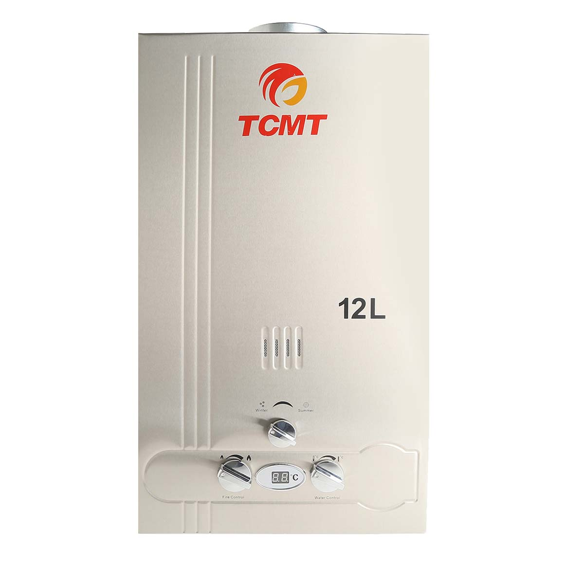 12l natural gas tankless 3 2gpm hot water heater instant for 3 bathroom tankless water heater